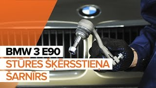 Kā nomainīt Amortizatora statnes balsts BMW 3 (E90) - video ceļvedis
