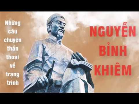 Những câu chuyện thần thoại về trạng trình Nguyễn Bỉnh Khiêm