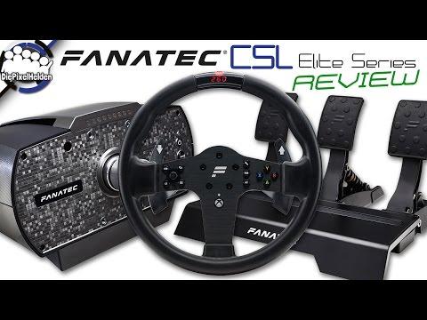 Fanatec CSL Elite Series - REVIEW - CSL P1 Wheel + CSL Elite Wheelbase + CSL Elite Pedale Loadcell