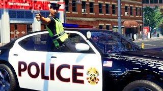Polizist verliert die Kontrolle - Police Simulator Patrol Duty Gameplay German