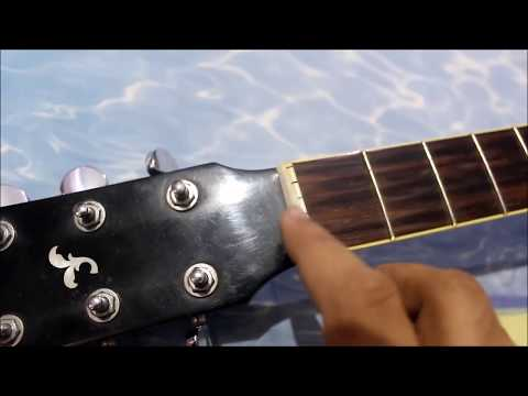 How To Change Guitar Strings | Convert Right Handed Guitar Into Left