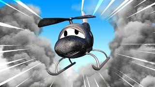 Автомойка Эвакуатора Тома - Вертолёт Гектор весь в саже после пожара - детский мультфильм