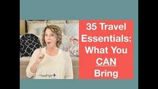 35 Travel Essentials I Pack in My Bags