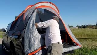 Rightline truck tent review and setup