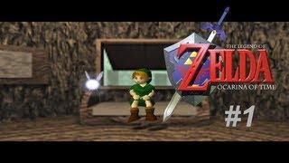 Vamos jogar - The Legend of Zelda - Ocarina of Time #1 - tutorial