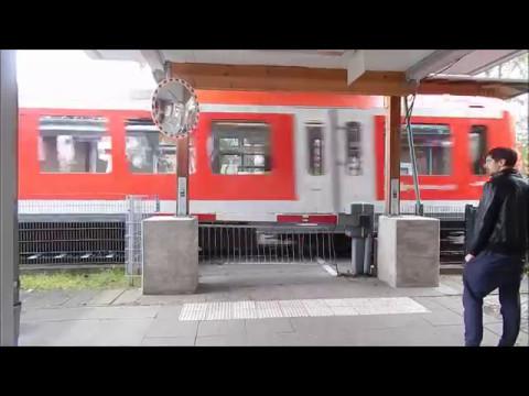 "Bahnhof /Train-Station ""Sülldorf"" (S-Bahn Hamburg)"