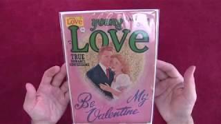 Reading Comics: Young Love #31, Jack Kirby, Golden Age Romance, Be My Valentine, Prize, 1952  [ASMR]