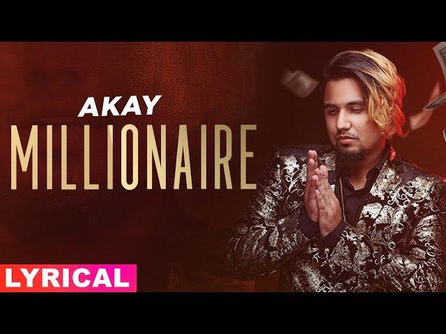 Millionaire (Lyrical) | A Kay | Western Penduz | Jerry | Latest Songs 2019 | Speed Records