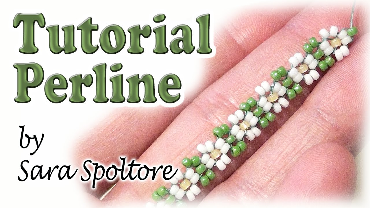 Conosciuto Tutorial perline - Come fare un fiore con perline - Come fare  FT33