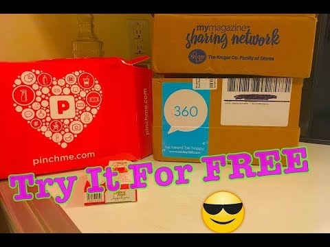 HOW TO GET FREE SAMPLES ONLINE?! PinchMe Unboxing! from YouTube · Duration:  4 minutes 48 seconds