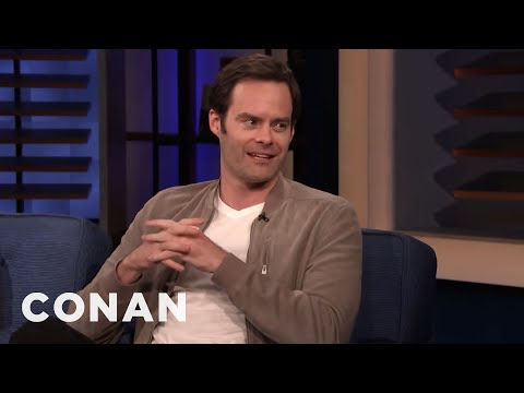 """Bill Hader Loves The True Crime Show """"Snapped"""" - CONAN on TBS"""