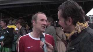 Kicken mit Herz 2010, Interview Peter Lohmeyer
