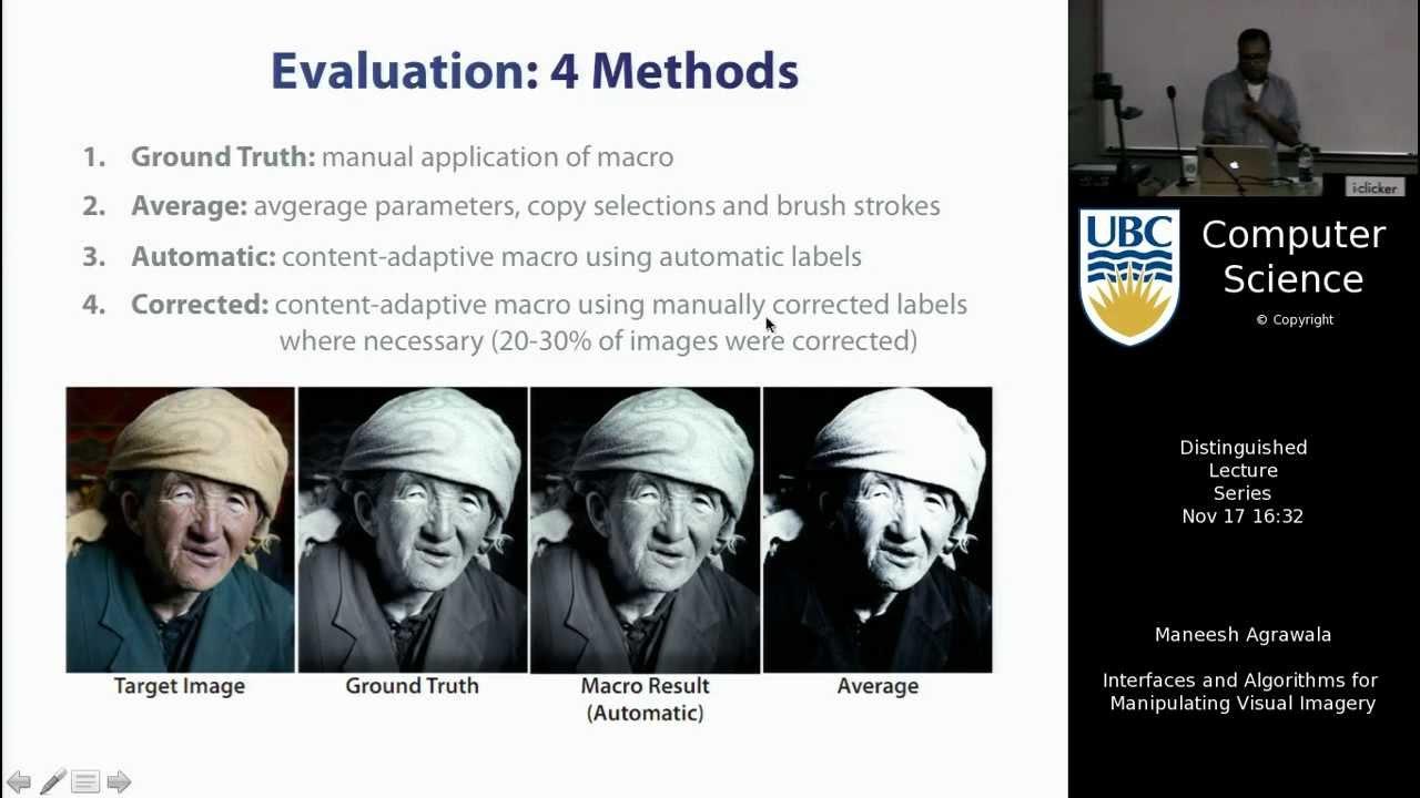 Agrawala maneesh agrawala - interfaces and algorithms for manipulating visual imagery