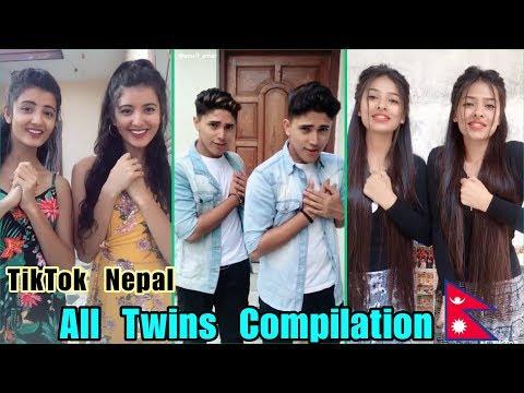 TikTok Nepal Twins Compilation   छुट्याउनै गाह्रो पर्ने जुम्याहा   कलाकार भन्दा कम छैनन् उनि हरु।