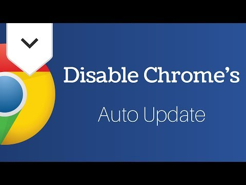 download How To Disable Automatic Google Chrome Updates