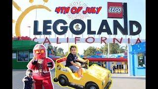4th of JULY at Legoland California | VLOG 2018 Family Fun