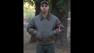 Видео обзор куртки CWU c меховым воротником от
