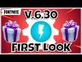 V.6.30 FIRST LOOK ~ GIFT BOXES & NEW UI - Fortnite StW | PvE