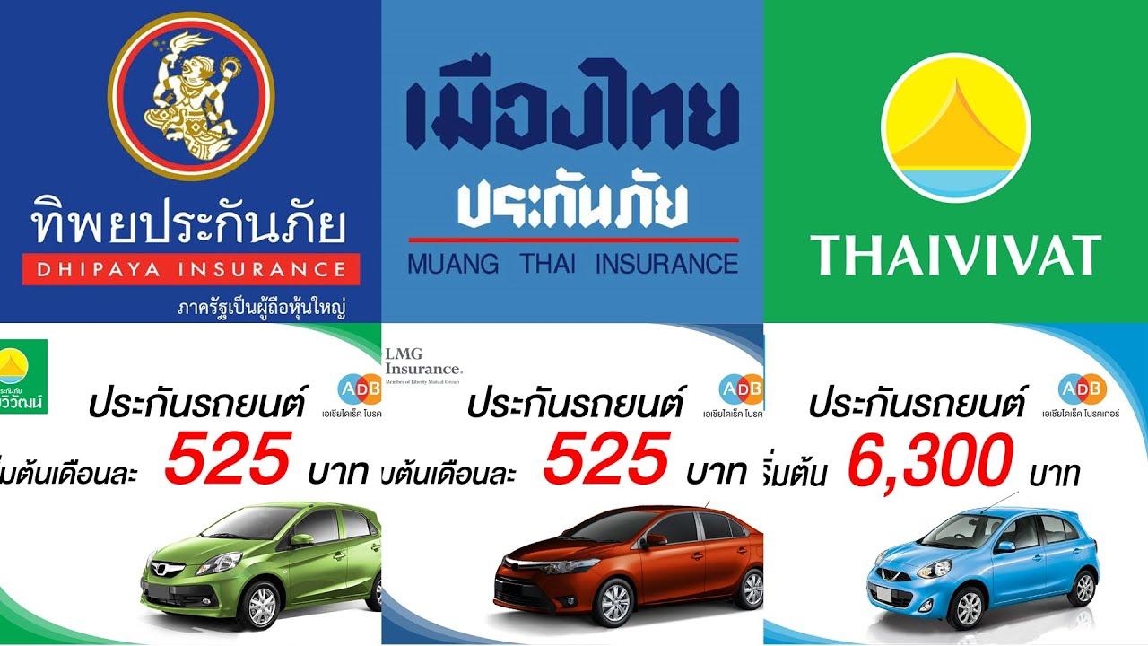 🔴10 อันดับ ประกันรถยนต์ที่คุ้มที่สุด 2562 (มีรถยนต์ต้องรู้)