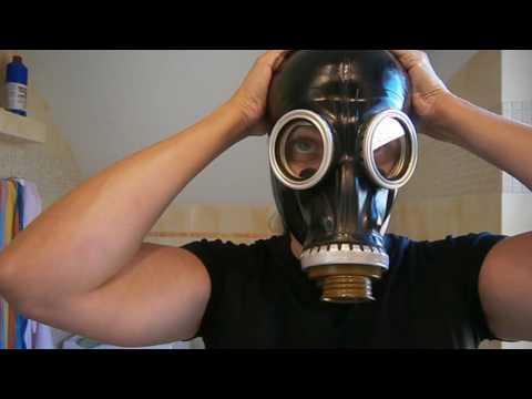 Russian gas mask GP-5