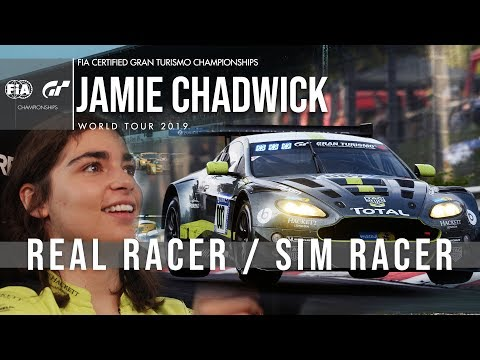 Jamie Chadwick on real-life benefits of Gran Turismo