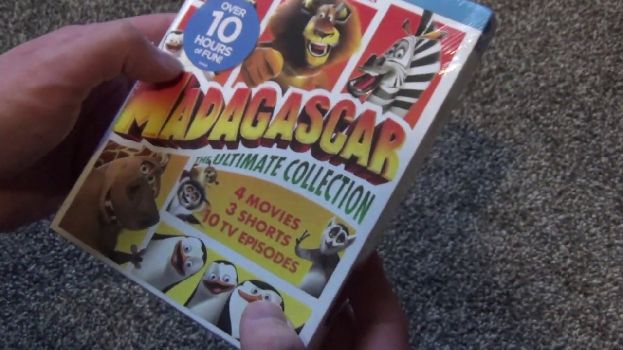 Madagascar: The Ultimate Collection Blu-Ray Unboxing