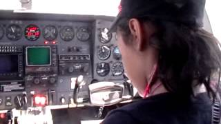 Youngest Pilot Bridgette Tofan 13 years old
