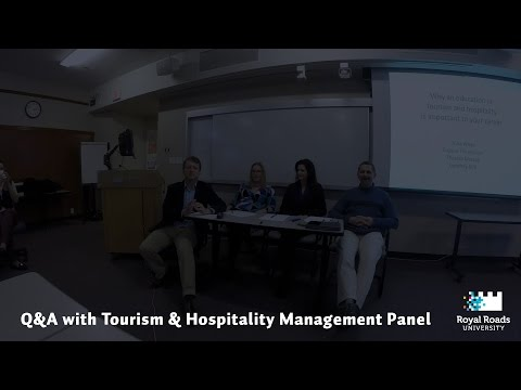 Future View: Q&A with Tourism & Hospitality Management Panel