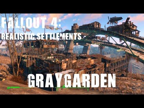 Fallout 4: Realistic Settlements - Graygarden