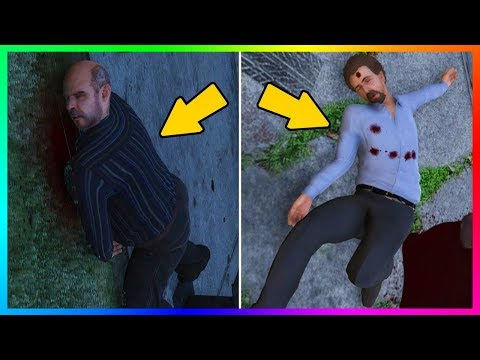 GRAND THEFT AUTO 5 CHARACTERS THAT YOU DIDNT KNOW COULD BE KILLED - 6 SECRET GTA 5 DEATHS!