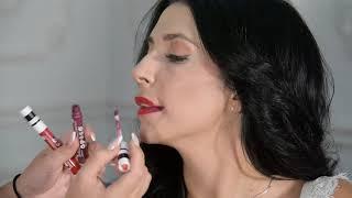Матовая жидкая губная помада Mary Kay At Play.Разные оттенки и способы нанесения.