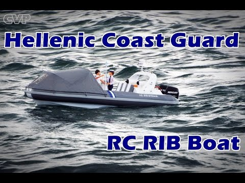 CVP - Hellenic Coast Guard RC Scale Rib Boat Full HD