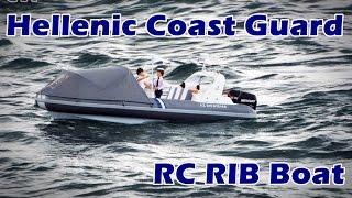CVP - Hellenic Coast Guard RC Scale Rib Boat Full HD
