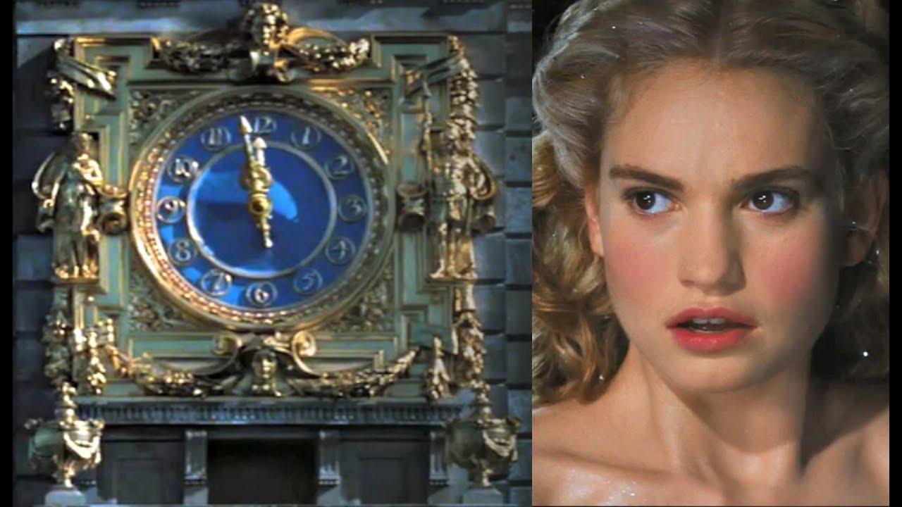 Cinderella Clock Face