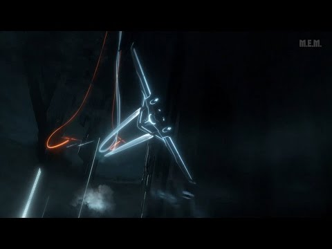 Tron (2010) -  Light Jets Chase - Only Action [1080p]