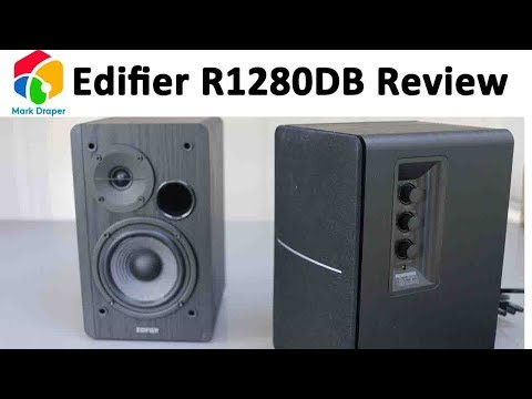 Edifier R1280DB Bookshelf Speakers Review