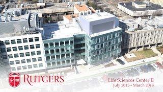 Rutgers University-Newark Life Sciences Center II Construction Time-Lapse