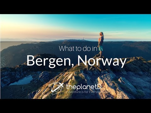 What to do in Bergen, Norway - 4K dji Osmo and Drone | The Planet D