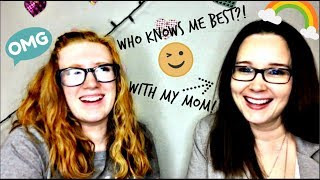 Who Knows Me Best?! with my mom | Ella Rose