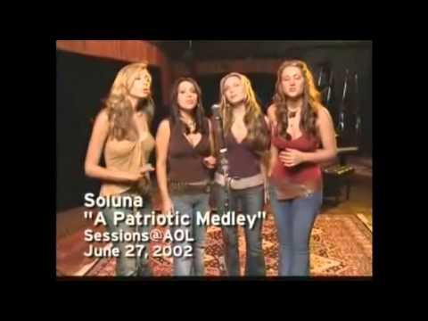 Soluna - Acappella Singing (Live)