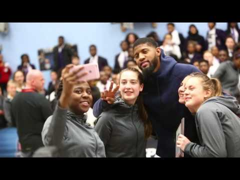 Indiana Pacers' Paul George is Star Attraction During EABL & WEABL 3x3 Finals