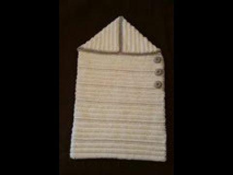 Tuto Crochet Nid D Ange Très Facile Au Point De Côte Crochet