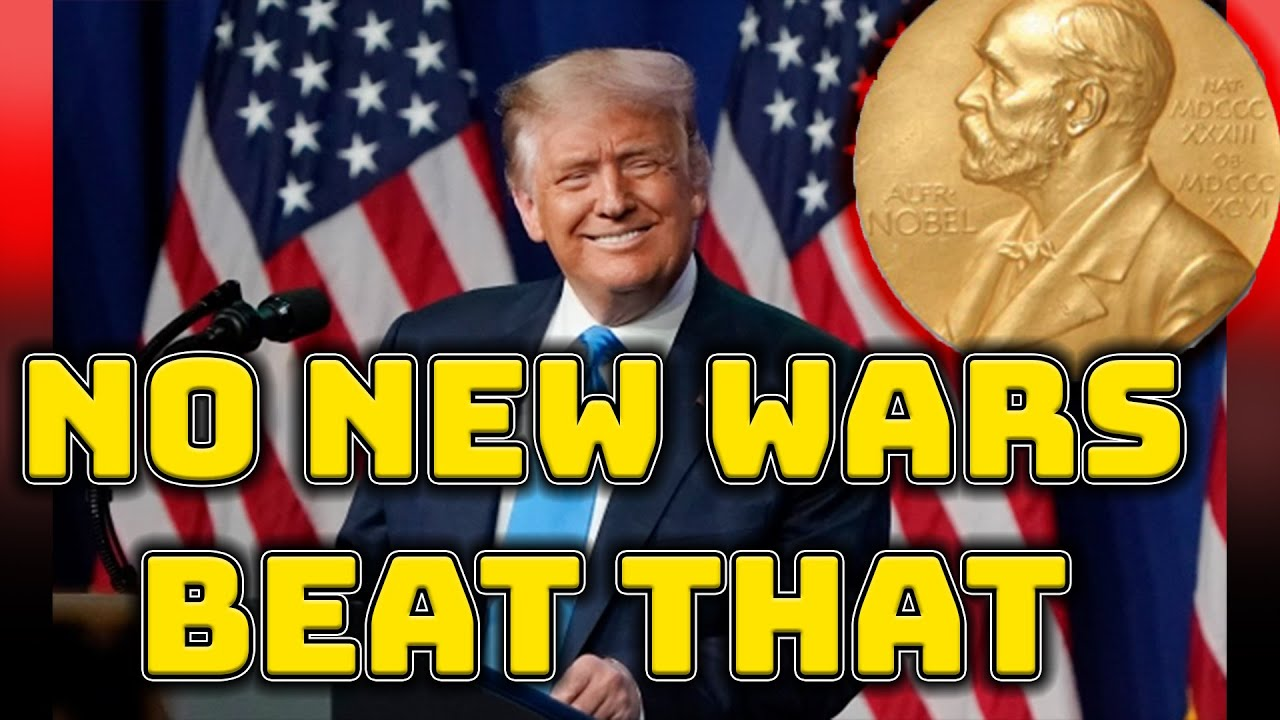 TRUMP nominated for the Nobel peace prize AGAIN!