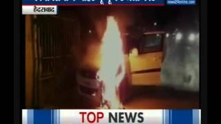 Hyderabad: TDP MLA's car destroyed Hyderabad
