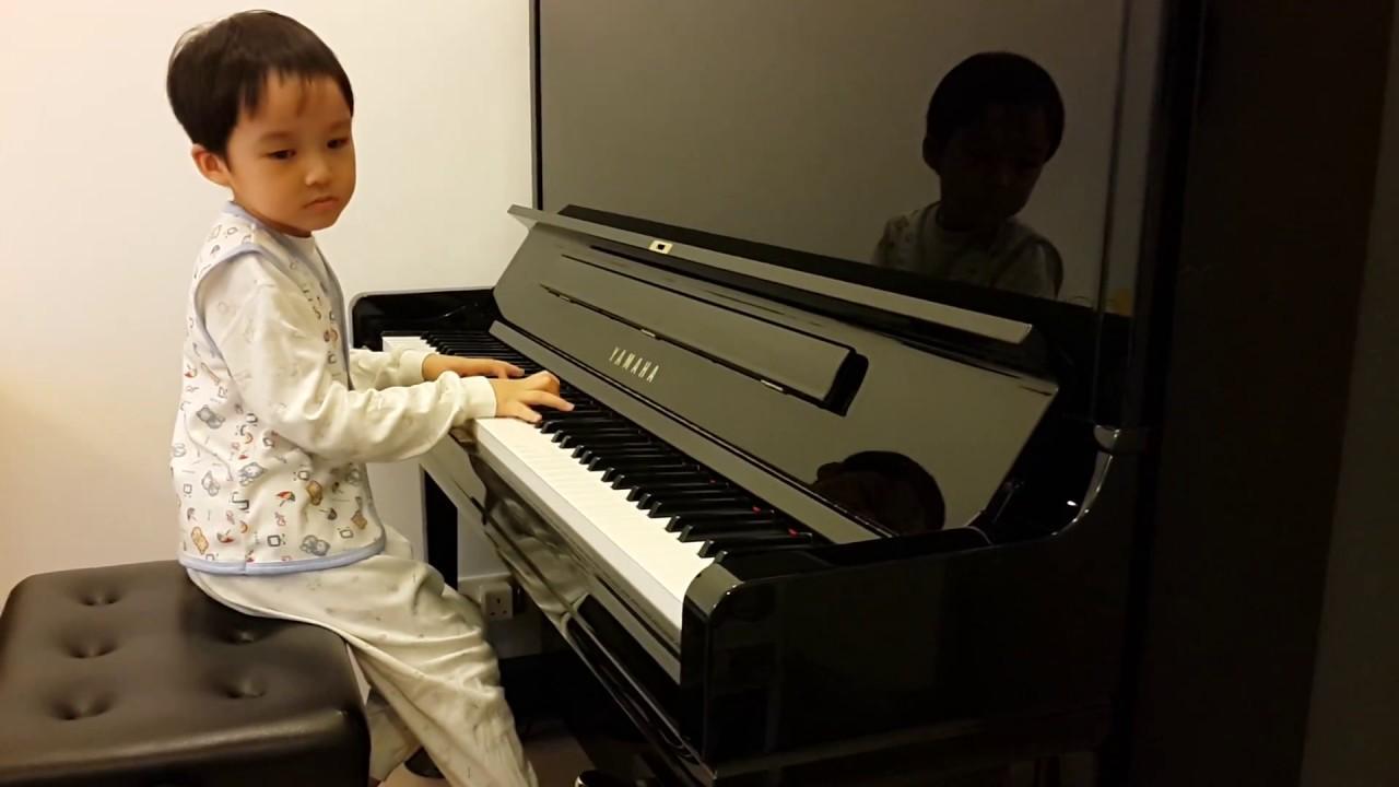 Fantasie Impromptu in C-sharp Minor Op.66 of Chopin (蕭邦 幻想即興曲), by Jonah Ho (age 5)