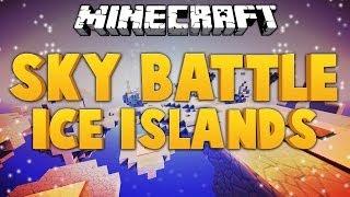 Minecraft Interactive ★ SKY BATTLE: ICE ISLANDS ★ Dumb vs Dumber