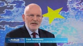 Ein peinlicher Fehler? Frans Timmermans, Vizepräsident der EU-Kommission (SPE/SPD) 16.05.2019