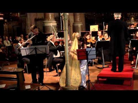 W.A.Mozart: Concerto per Flauto e Arpa K299