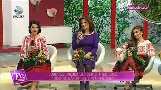Teo Show (08.03.2017) - Raluca Burcea, Theo Rose si Angelica Flutur  povestesc despre copilarie!