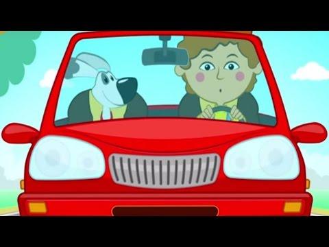 Песенки для детей - Машинка - песенка - мультик про машины